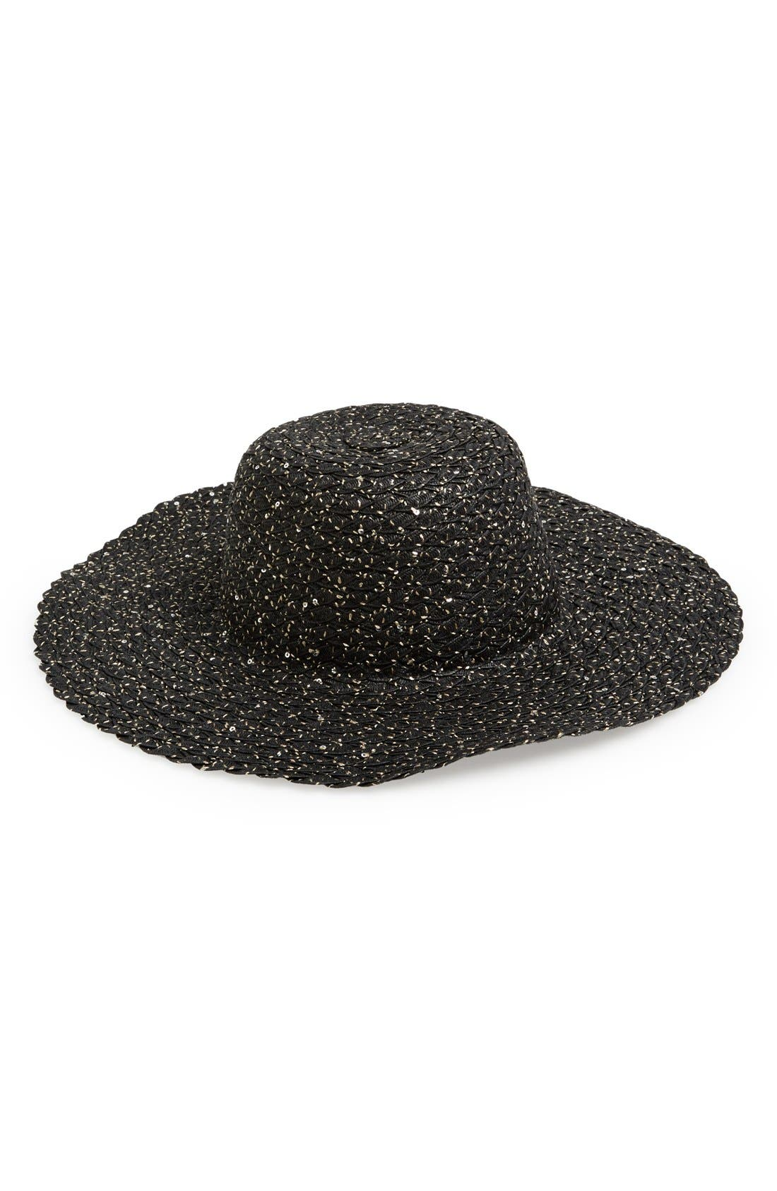 Alternate Image 1 Selected - August Hat 'Shiny Discovery' Floppy Hat