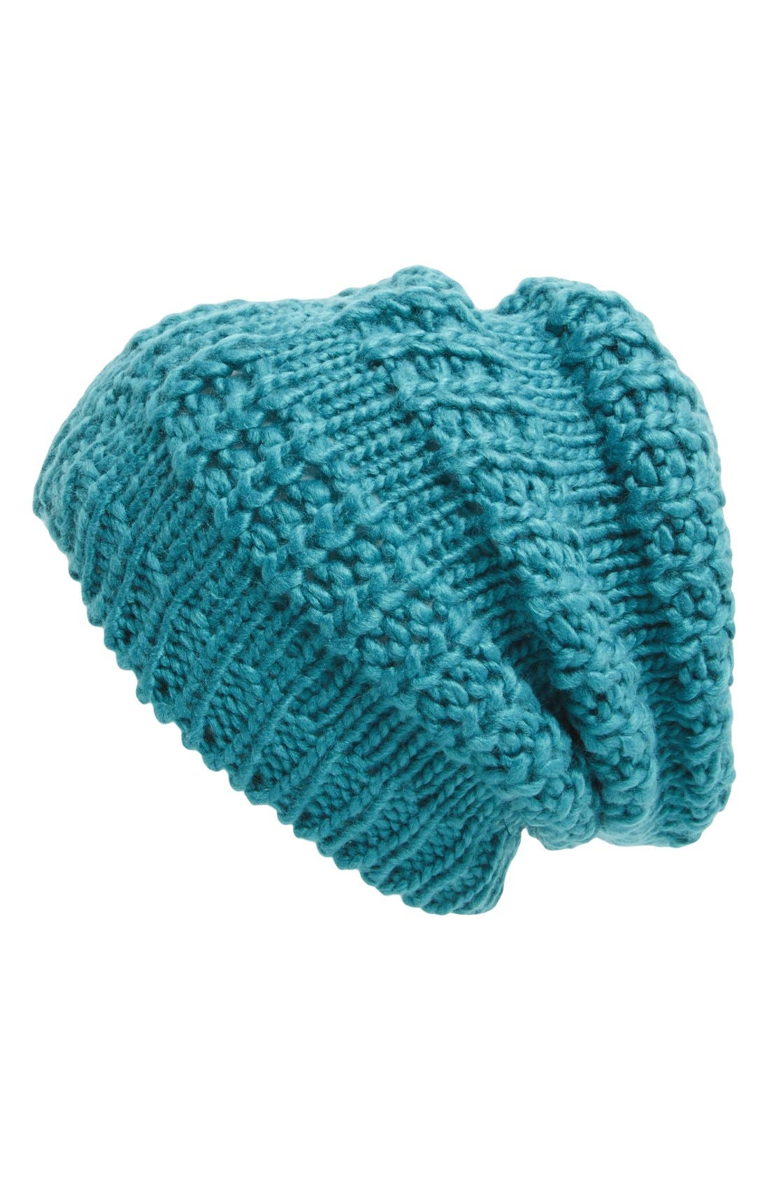 Main Image - Leith Mixed Stitch Beanie