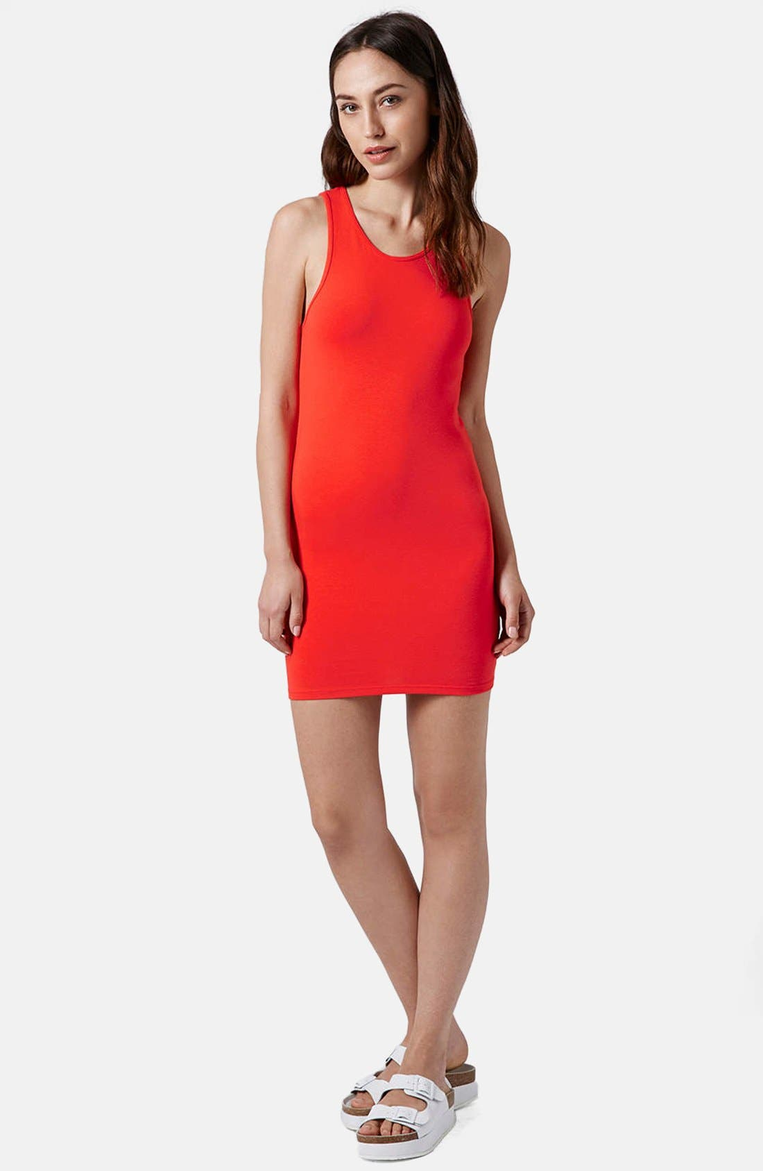 Alternate Image 5  - Topshop Cutout Body-Con Dress