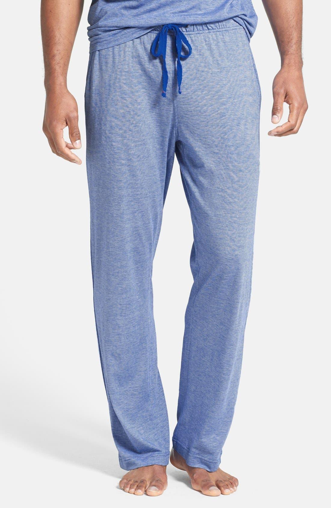 Alternate Image 1 Selected - Daniel Buchler Pima Cotton & Modal Lounge Pants