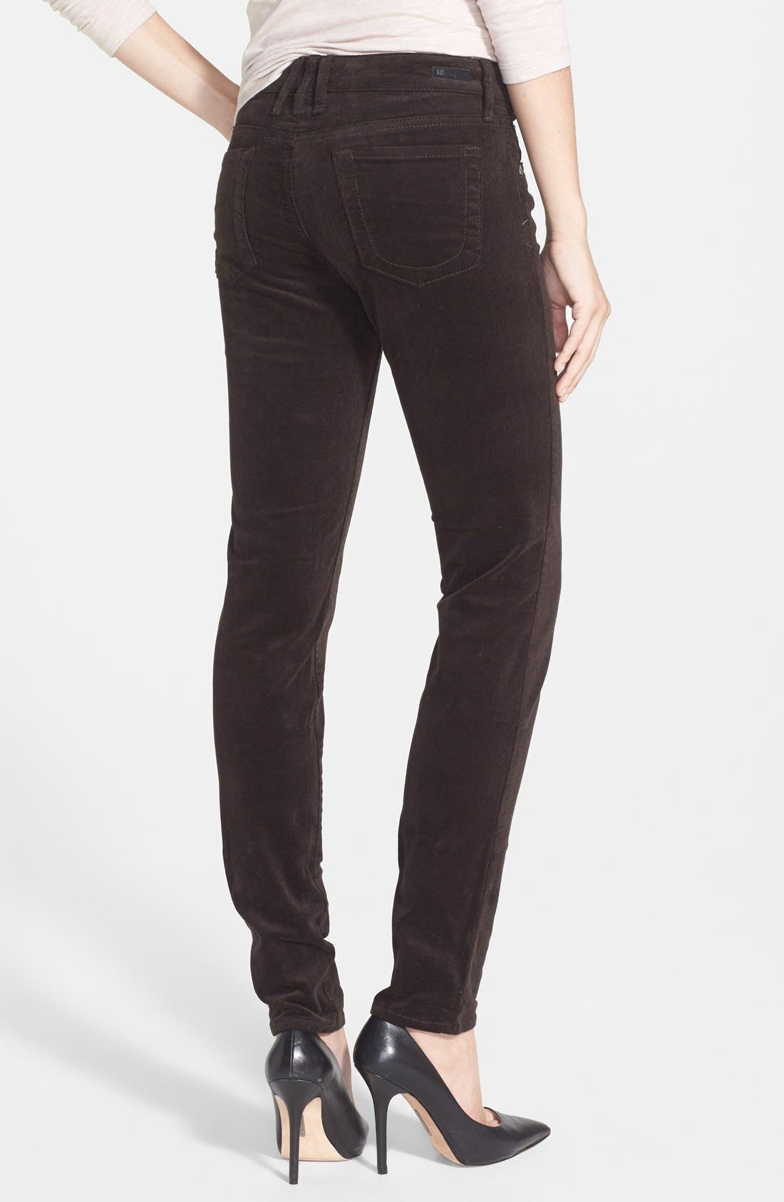 Alternate Image 2  - KUT from the Kloth Diana Stretch Corduroy Skinny Pants (Regular & Petite)
