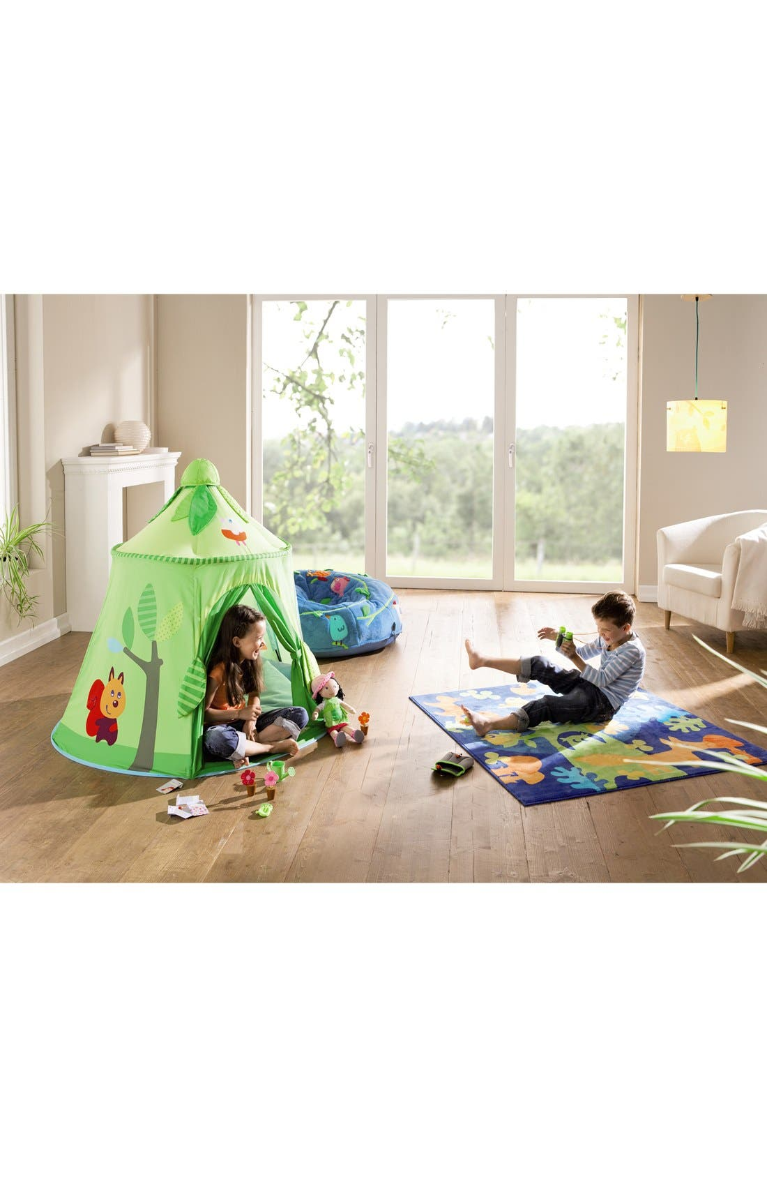 'Magic Forest' Play Tent,                             Alternate thumbnail 2, color,                             Green