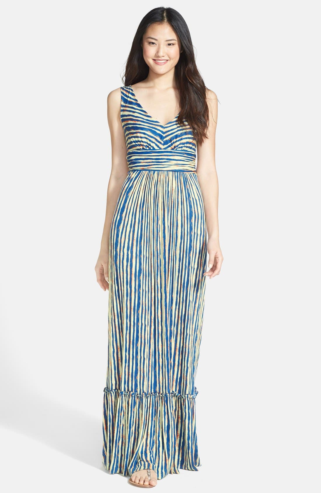 Main Image - Plenty by Tracy Reese 'Marcia' Print Jersey Maxi Dress