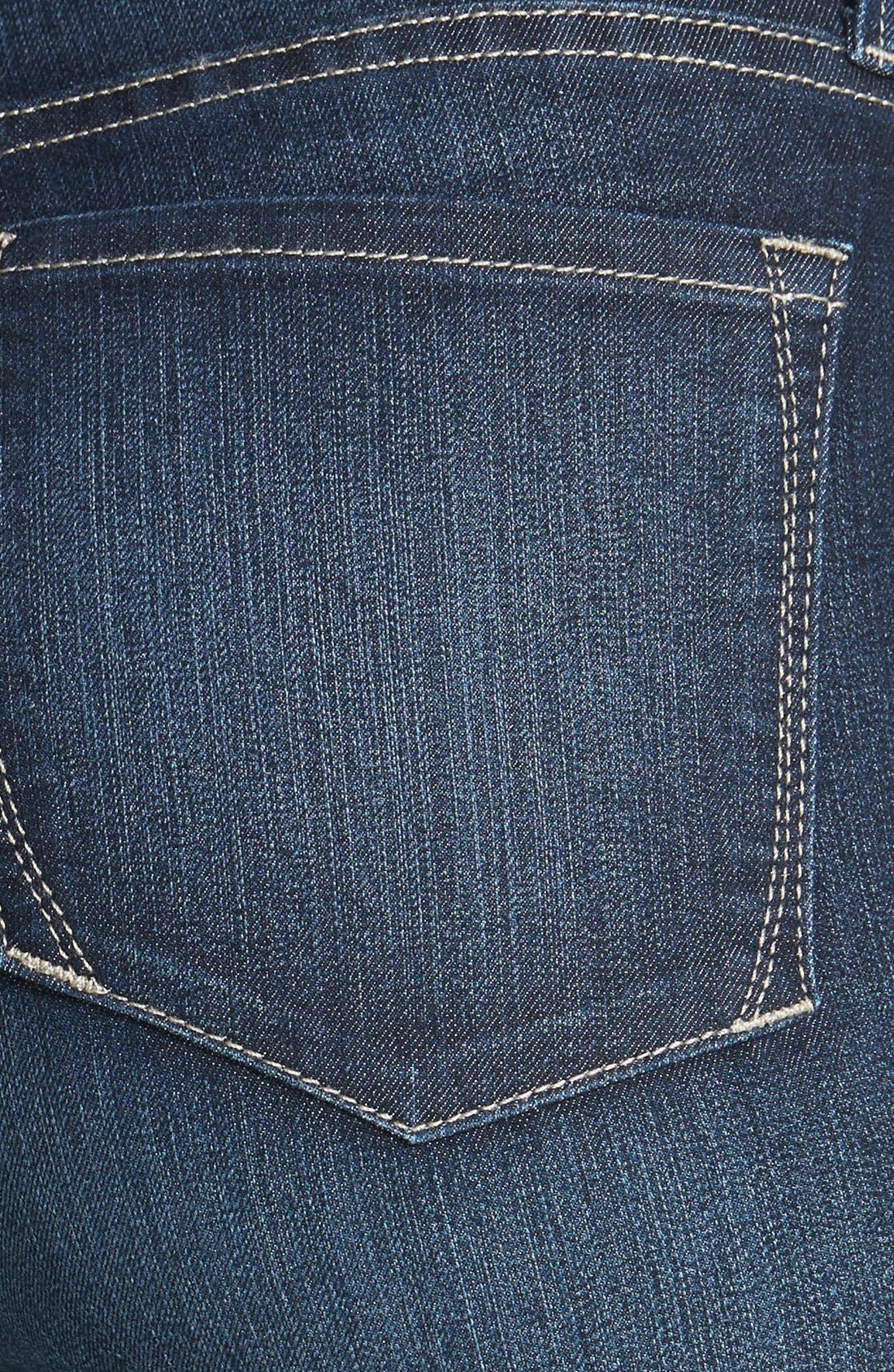 Alternate Image 3  - NYDJ 'Briella' Cuff Stretch Denim Shorts (Regular & Petite)