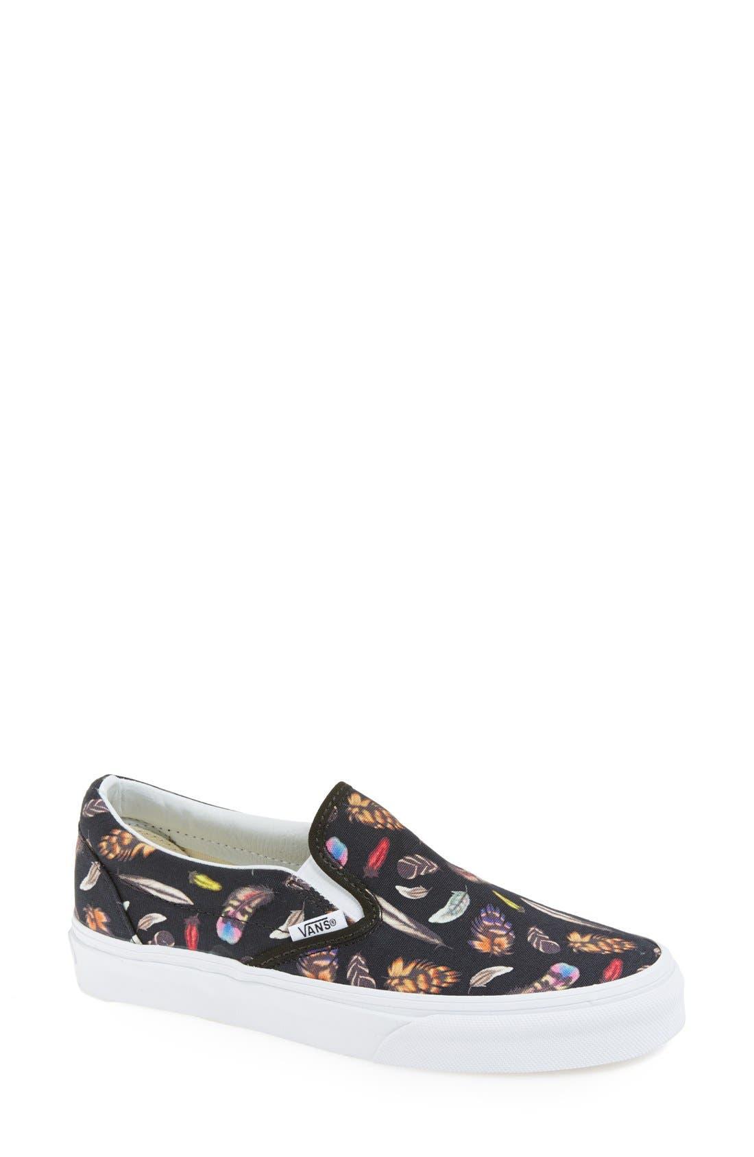 Alternate Image 1 Selected - Vans 'Classic' Slip-On Sneaker (Women)