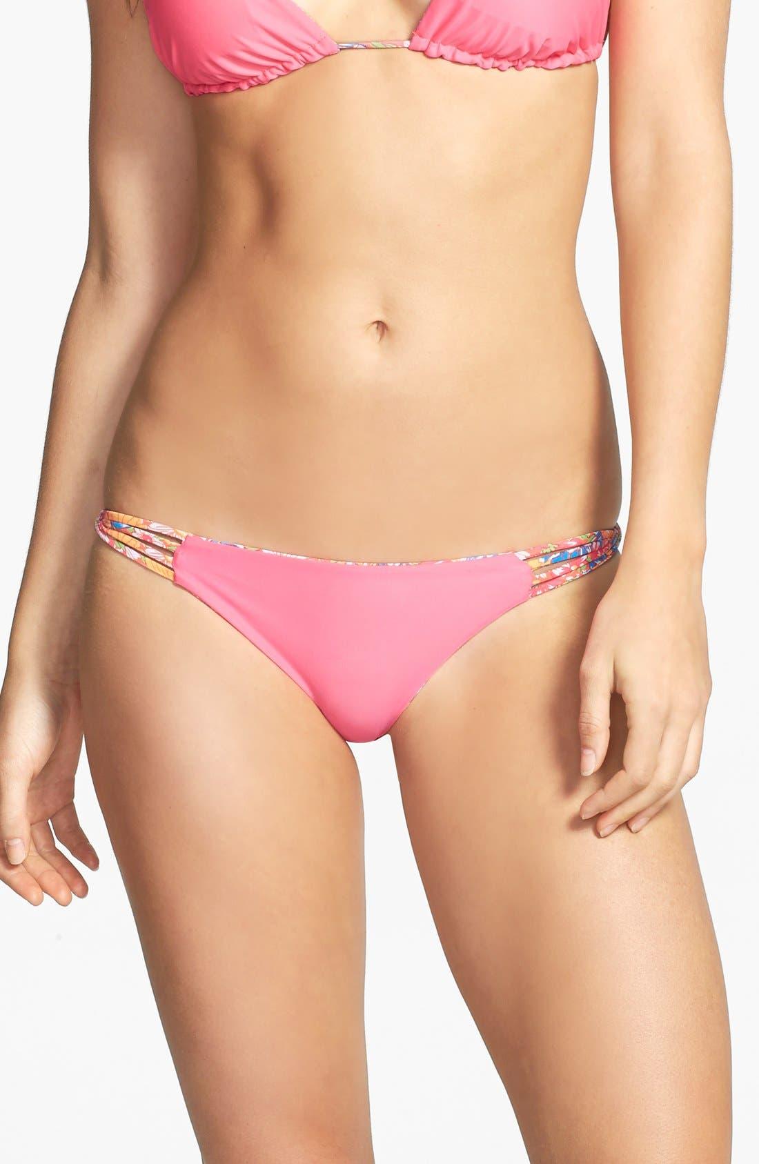 Alternate Image 2  - O'Neill 'Citrus Floral' Reversible Strappy Twist Bikini Bottoms