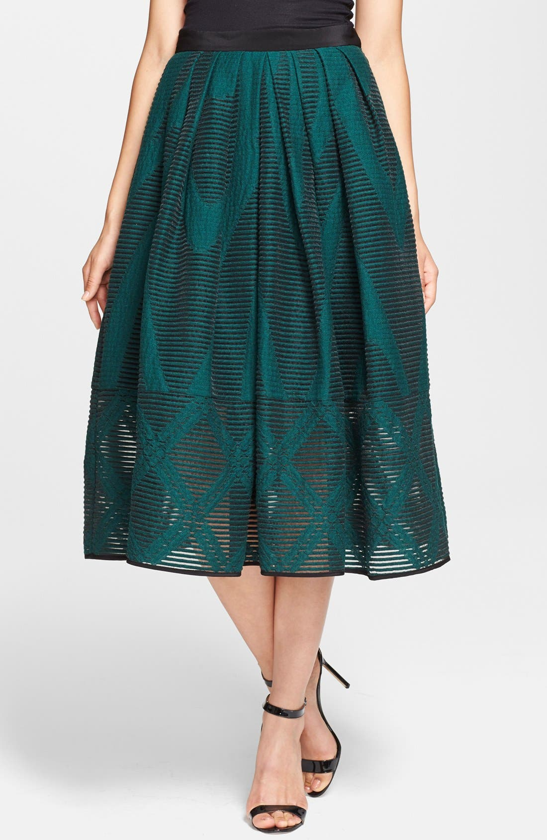 Alternate Image 1 Selected - Tibi 'Arboretum' Midi Skirt