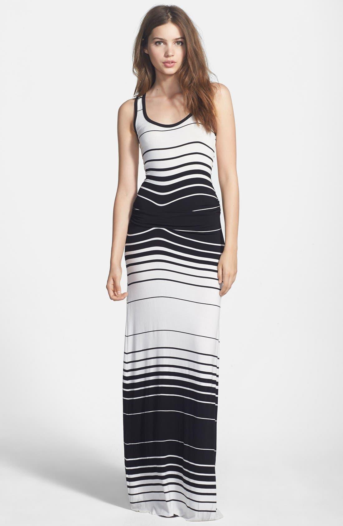 Main Image - Young, Fabulous & Broke 'Hamptons' Stripe Maxi Dress
