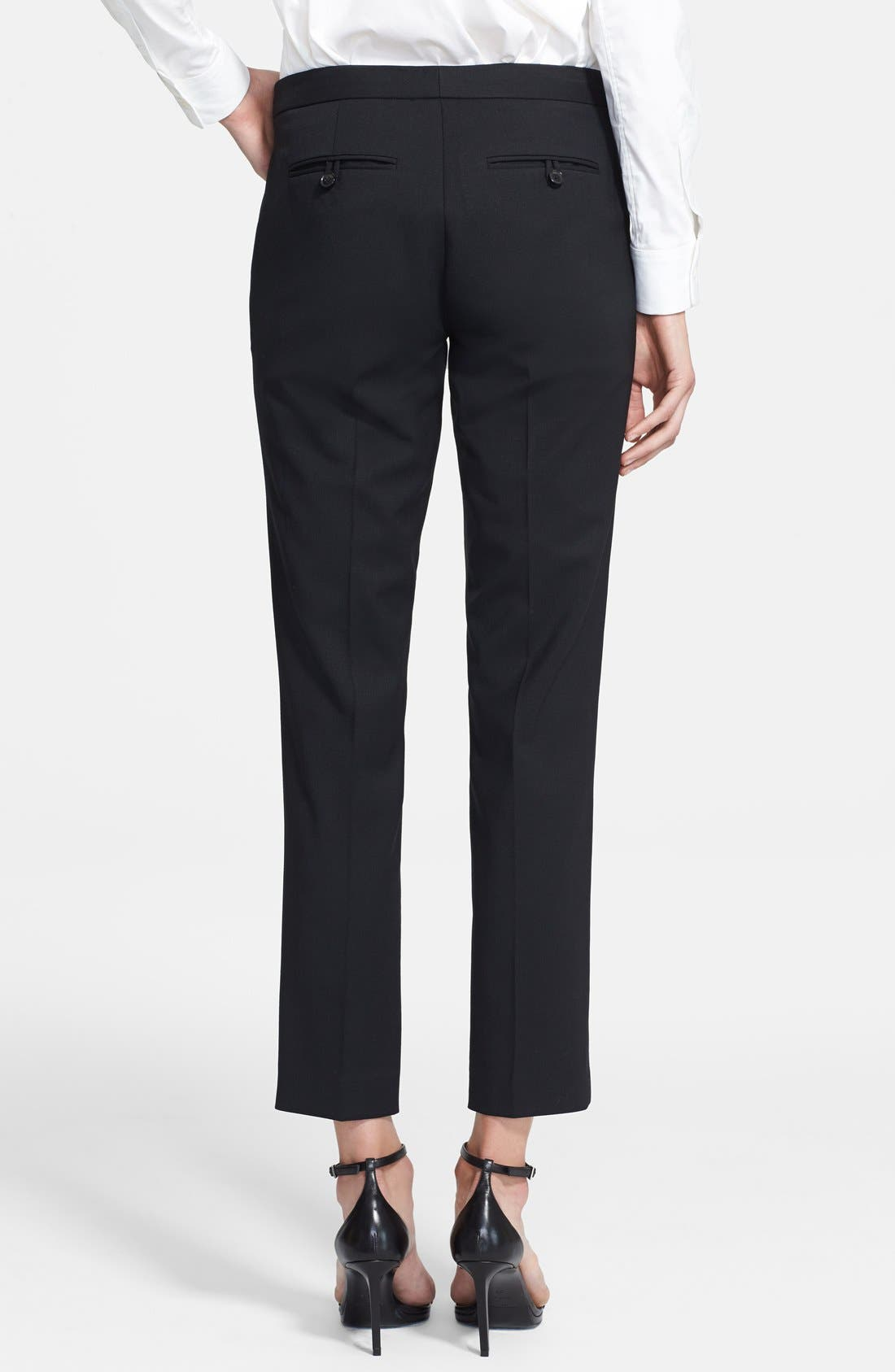 Alternate Image 2  - Theory Crop Stretch Wool Pants
