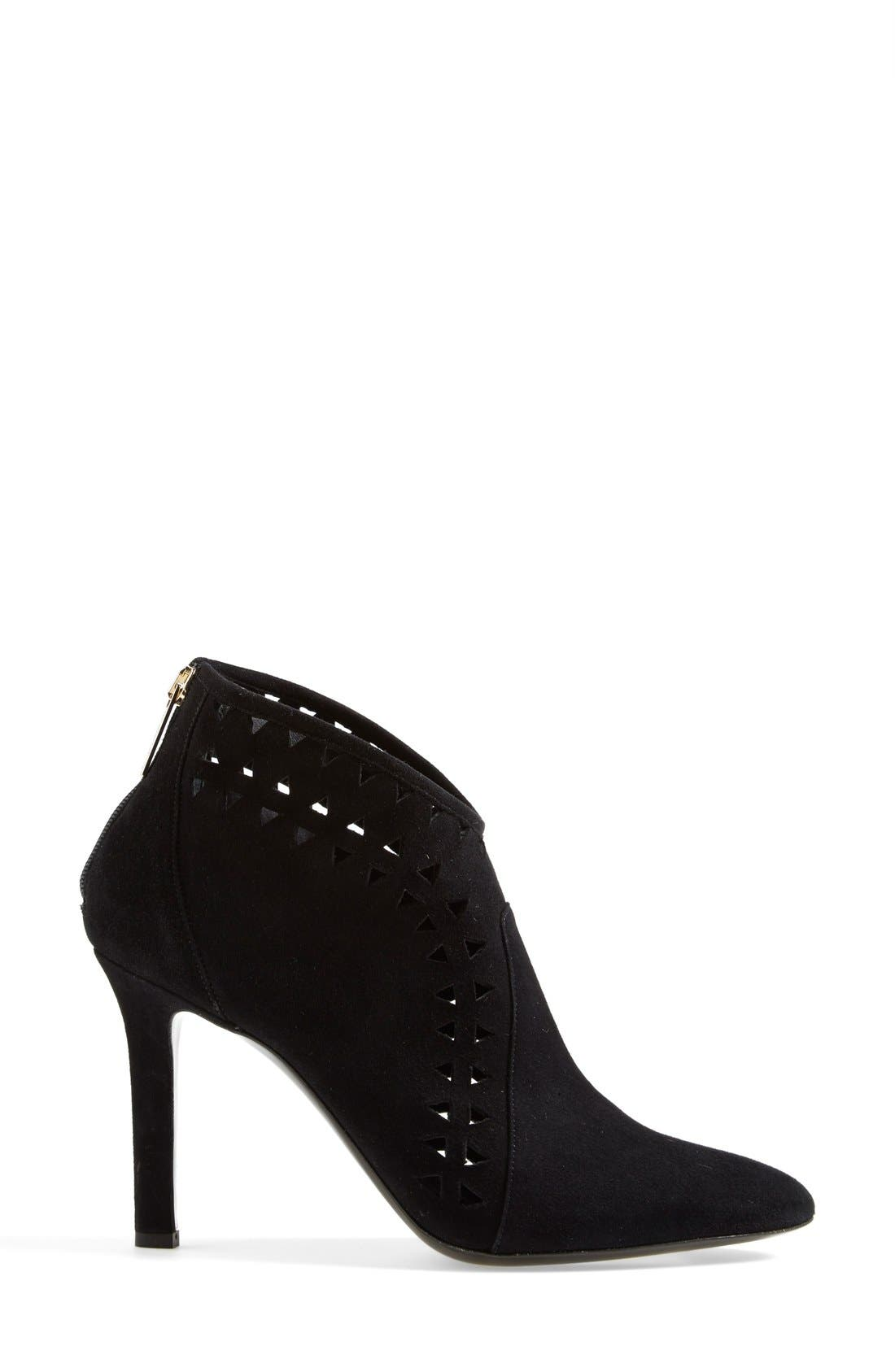 Alternate Image 4  - Tamara Mellon 'French Kiss' Suede Bootie (Women)