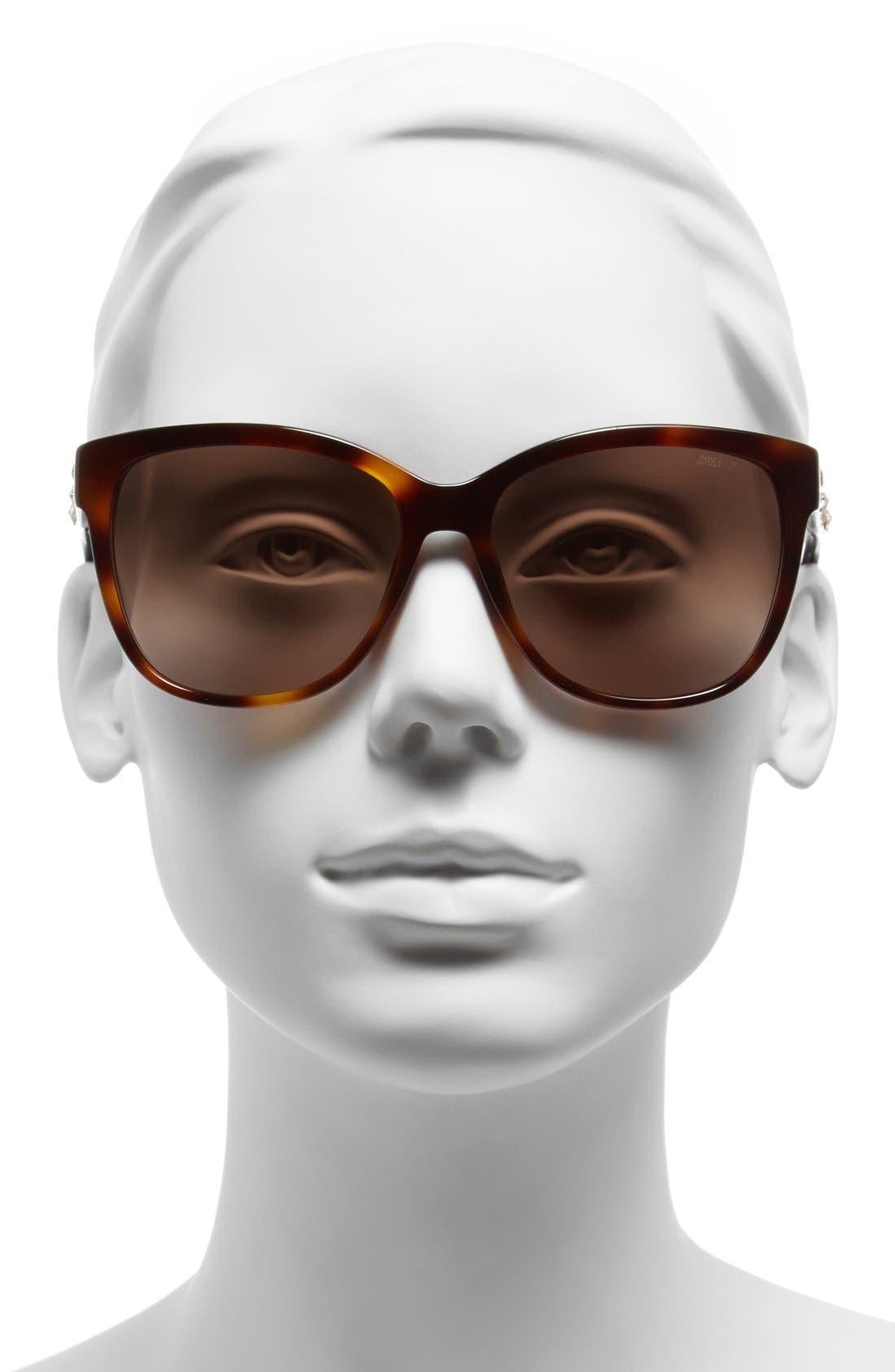 Alternate Image 2  - Jimmy Choo 'Chantys' 58mm Sunglasses