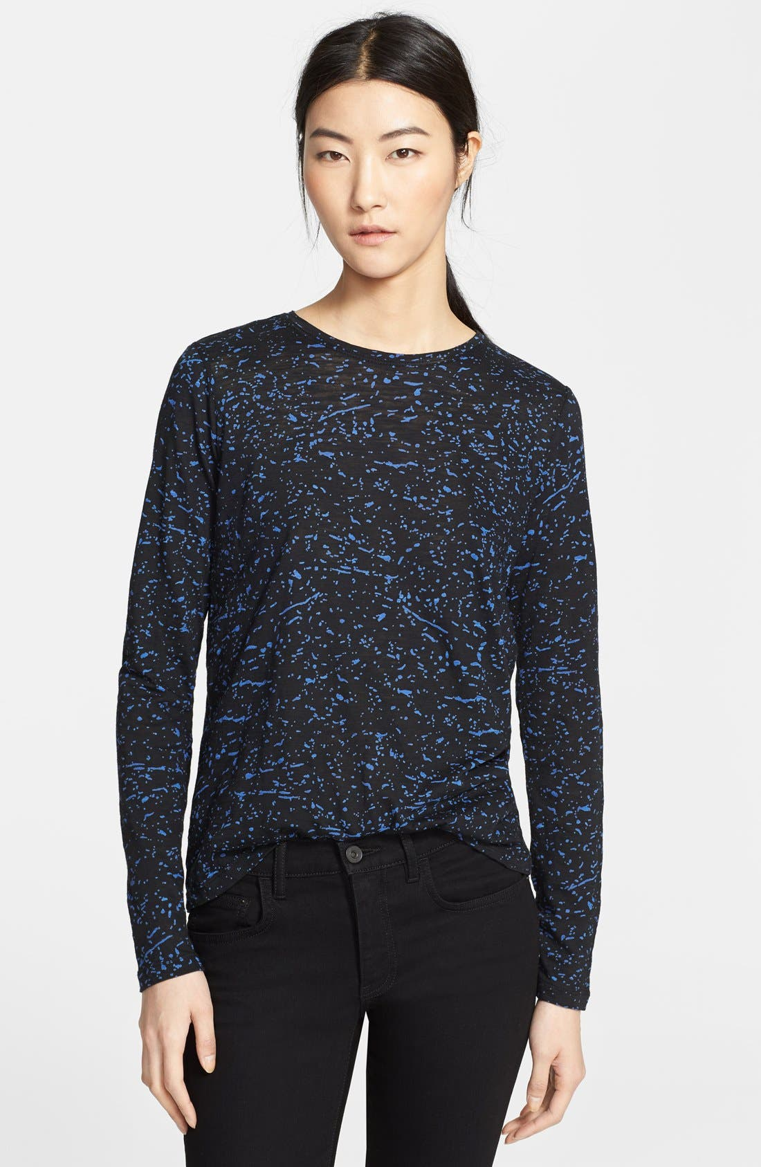 Alternate Image 1 Selected - Proenza Schouler Print Jersey Tee