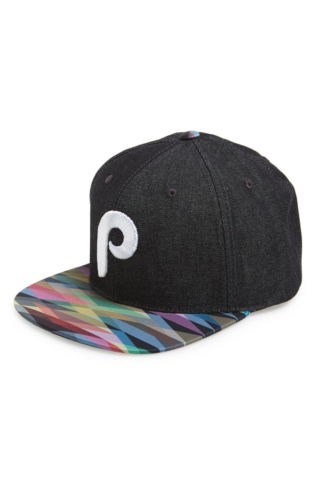 Alternate Image 1 Selected - American Needle 'Geo Tag - Philadelphia Phillies' Baseball Cap