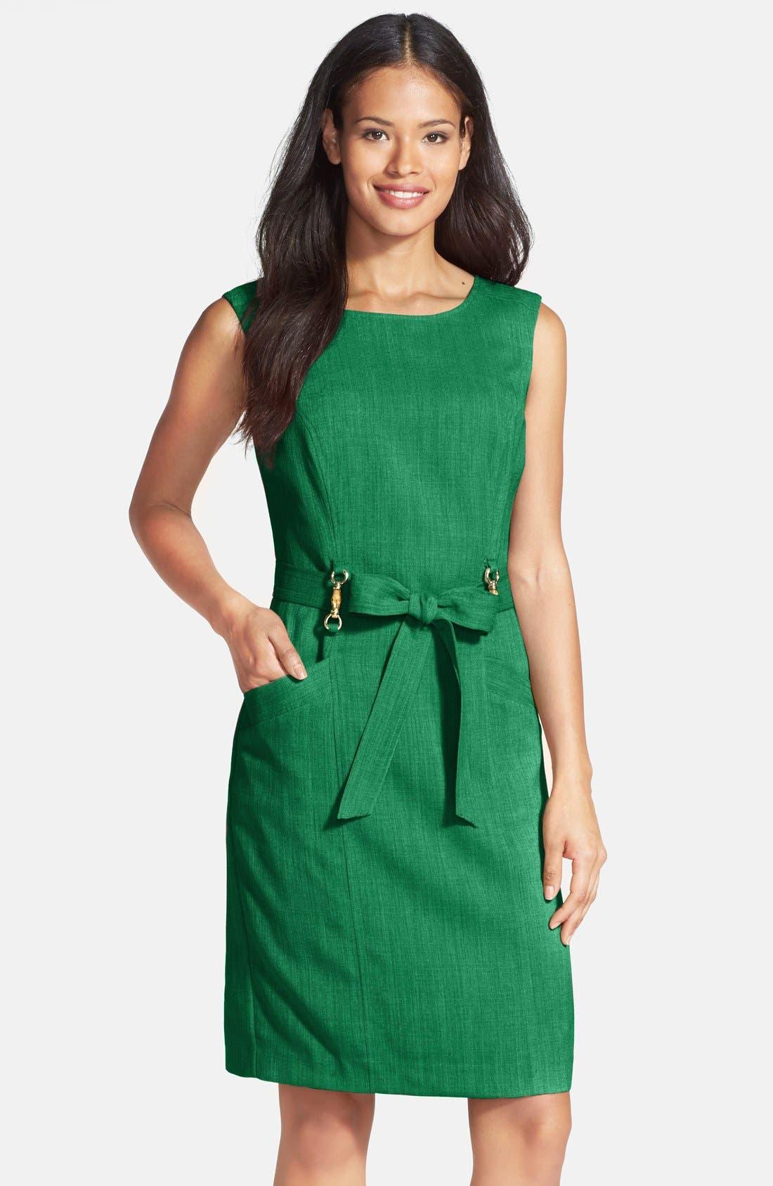 Main Image - Ellen Tracy 'Kenya' Sleeveless Dress