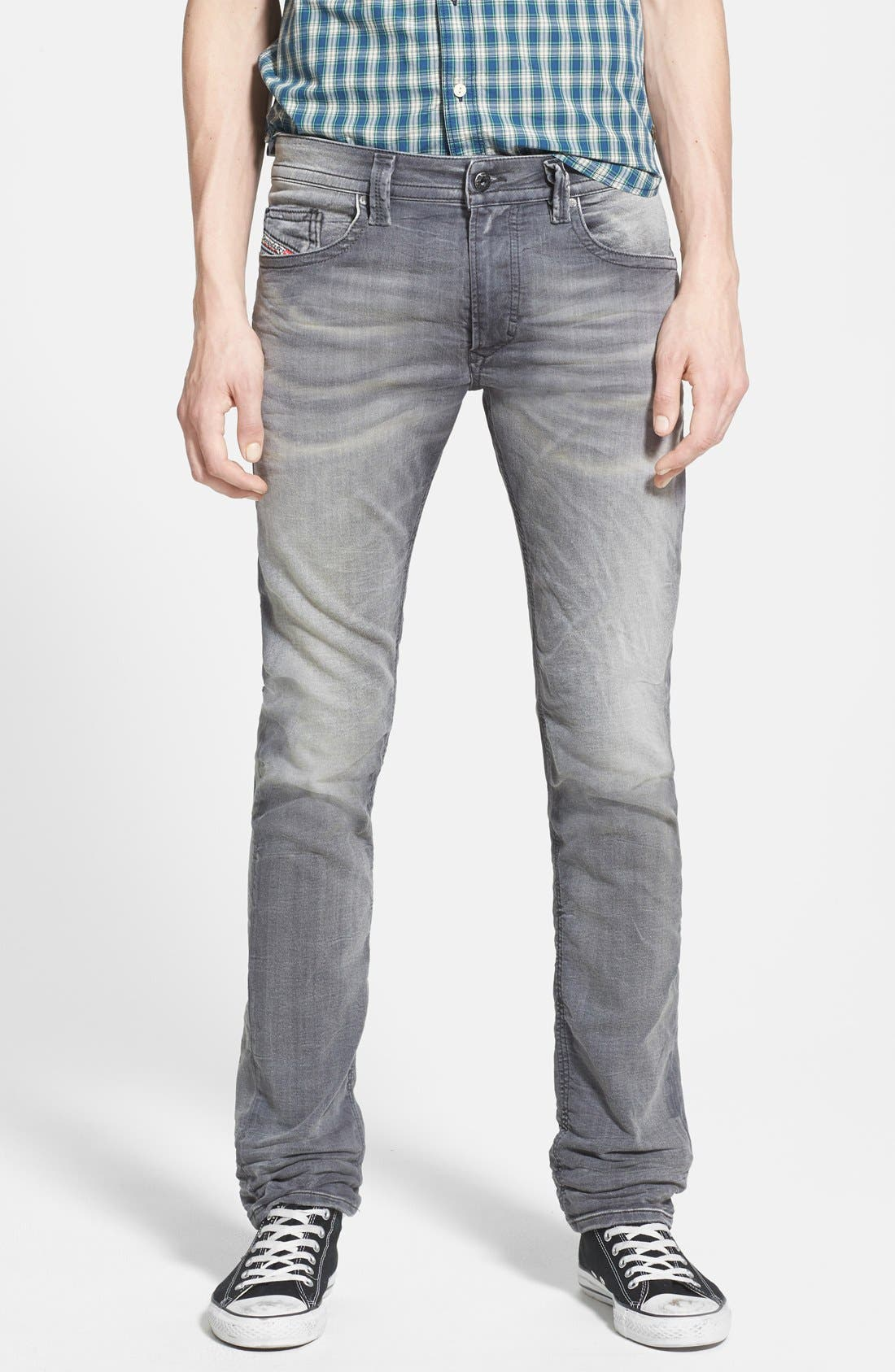 Alternate Image 1 Selected - DIESEL® 'Thavar Jogg' Skinny Fit Jeans (0830Q)