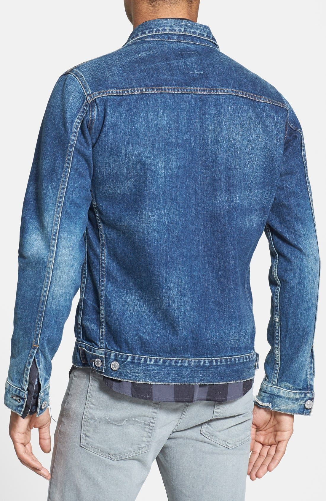 Alternate Image 2  - Citizens of Humanity Classic Selvedge Denim Jacket