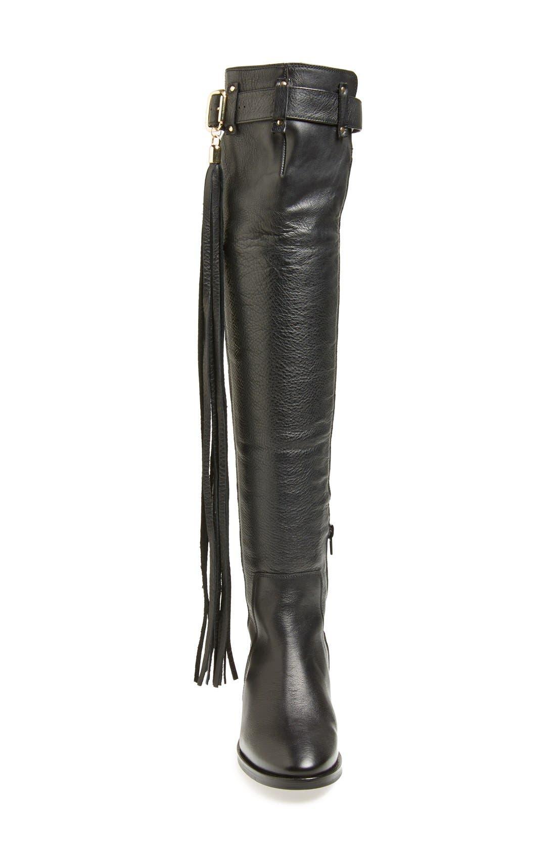 Alternate Image 3  - KG Kurt Geiger 'Vixen' Over the Knee Leather Boot (Women)