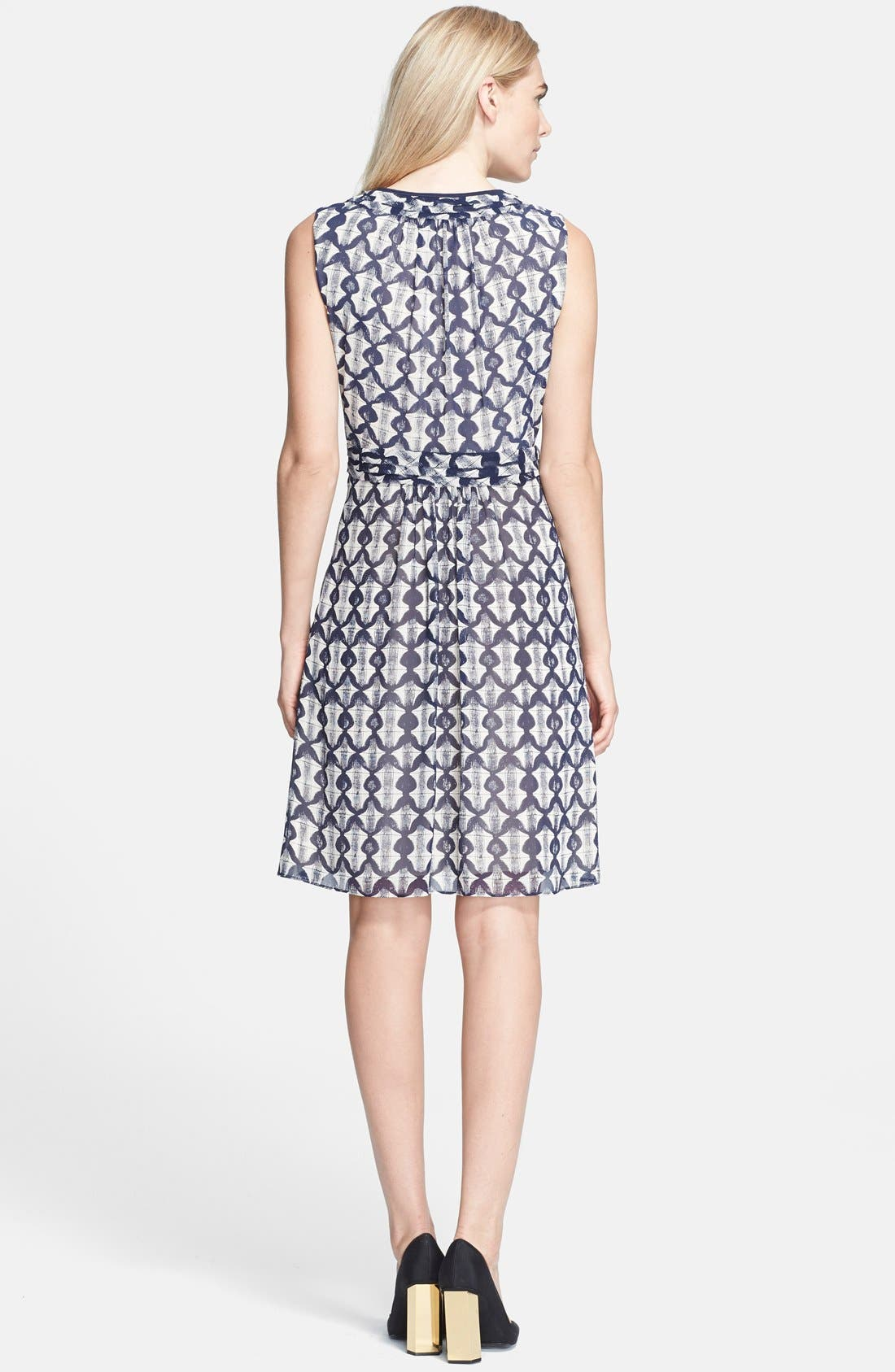 Alternate Image 2  - Tory Burch 'Leyna' Print Silk Georgette Fit & Flare Dress