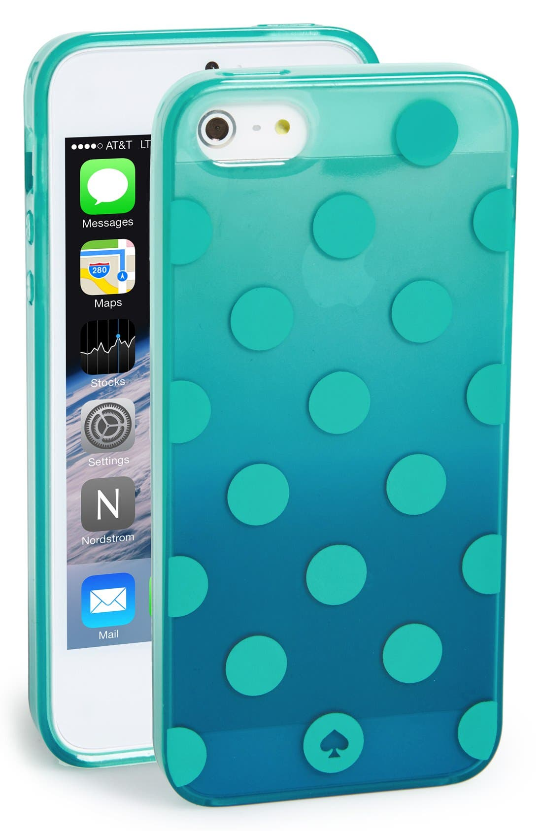 Alternate Image 1 Selected - kate spade new york 'ombré dot' iPhone 5 & 5s case