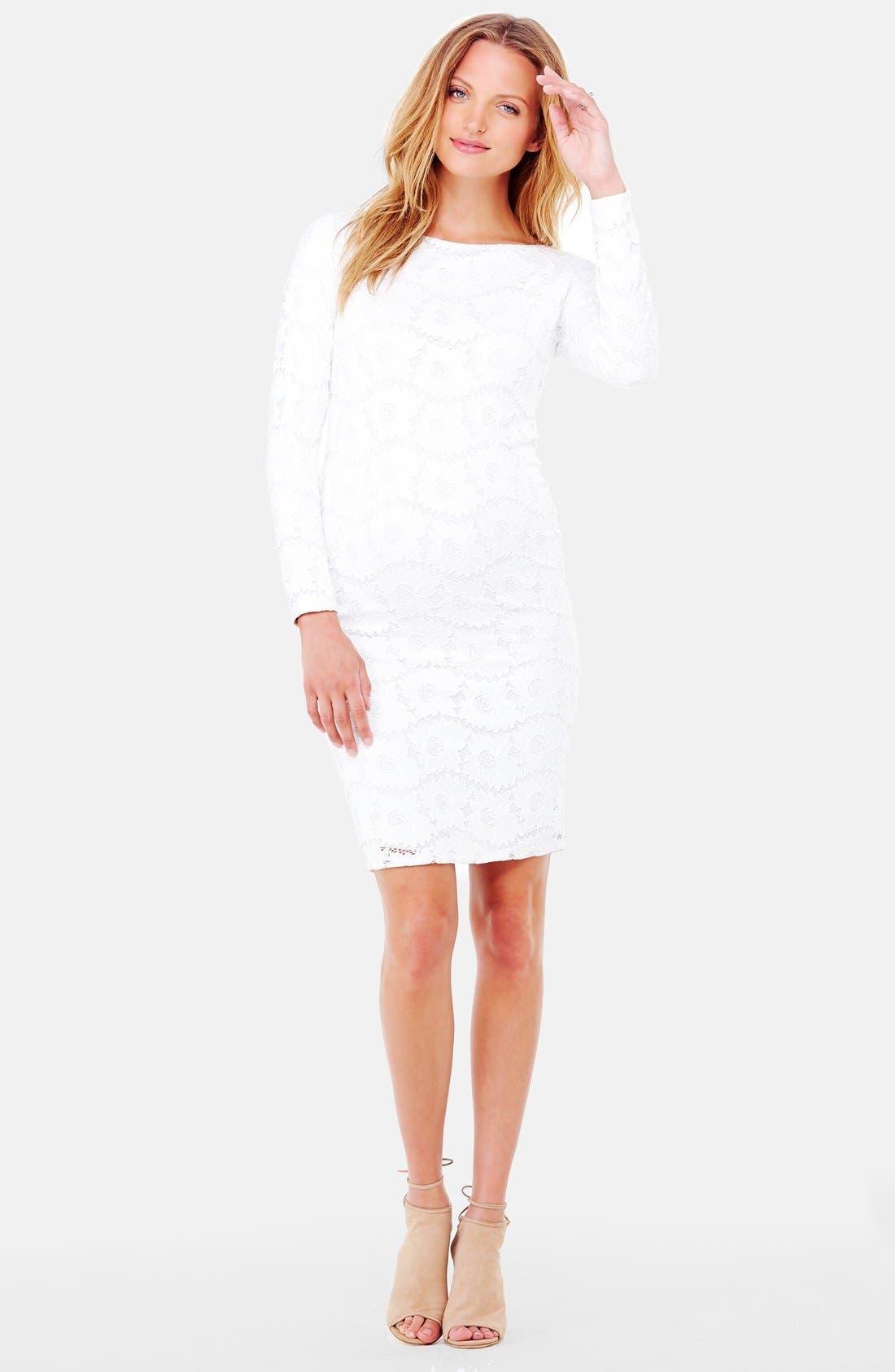 Ingrid & Isabel Lace Maternity Dress
