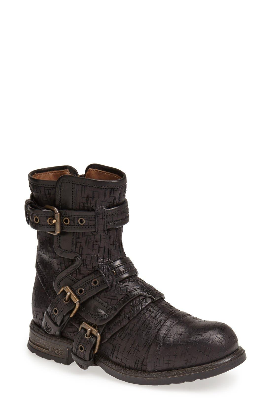 Alternate Image 1 Selected - UGG® Australia Collection 'Elisabeta Weave' Boot (Women)