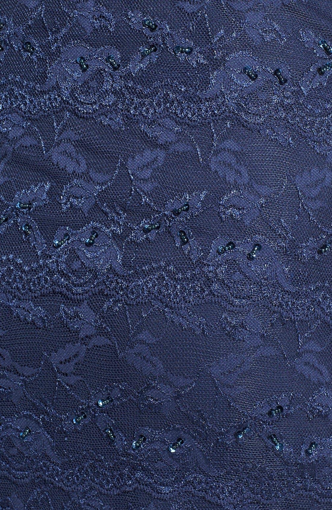 Alternate Image 5  - Marina Tiered Lace Dress