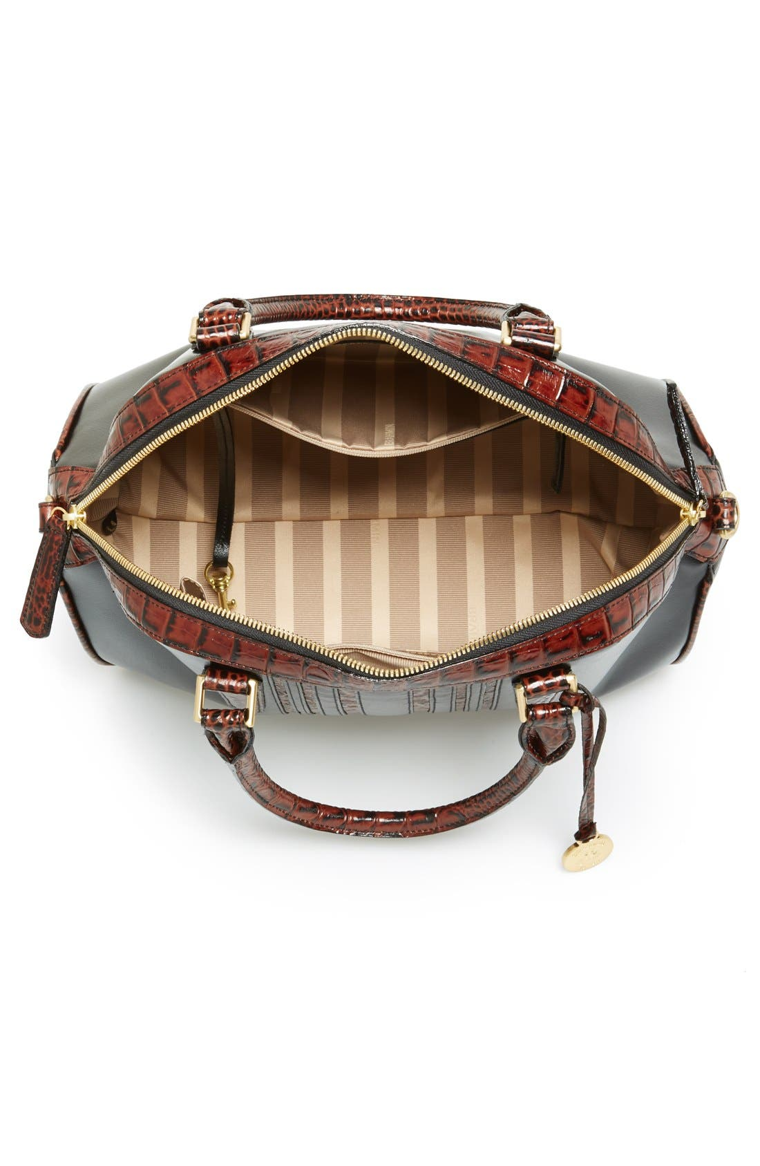 Alternate Image 3  - Brahmin 'Hudson' Leather Satchel