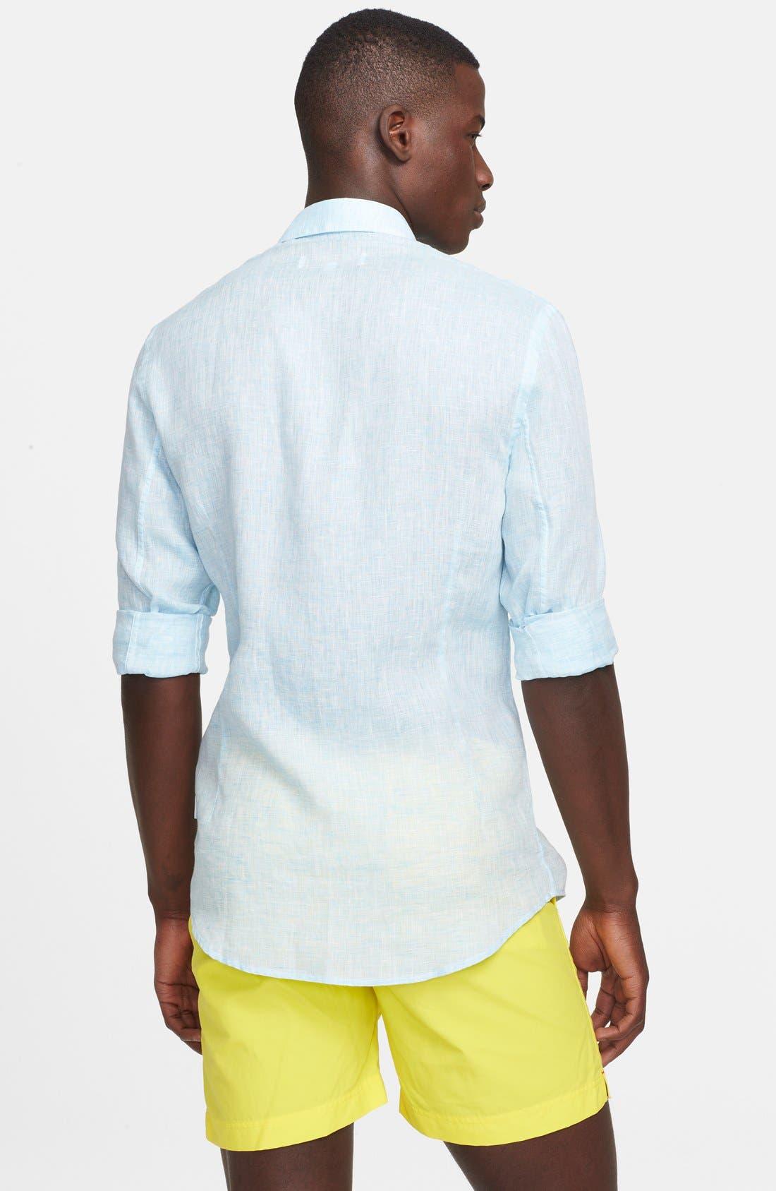 Alternate Image 2  - Orlebar Brown 'Morton' Linen Shirt