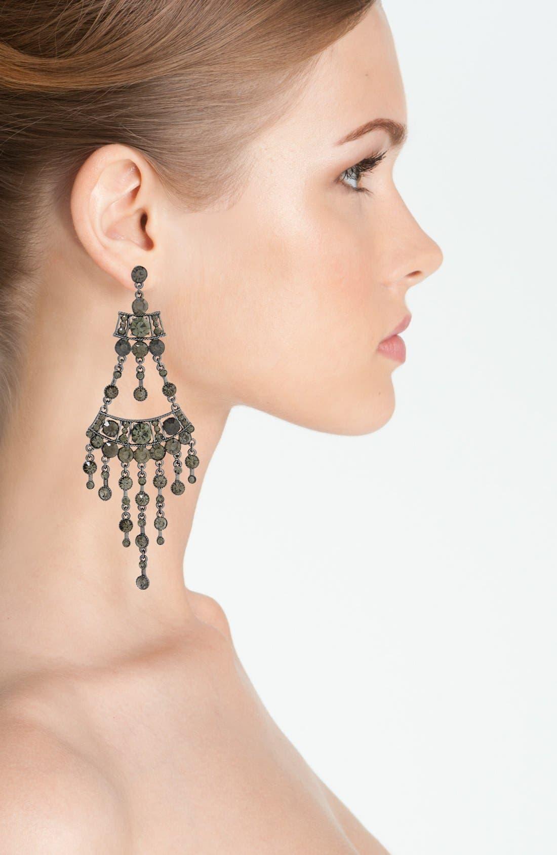 Alternate Image 2  - Natasha Couture 'Drama' Chandelier Earrings