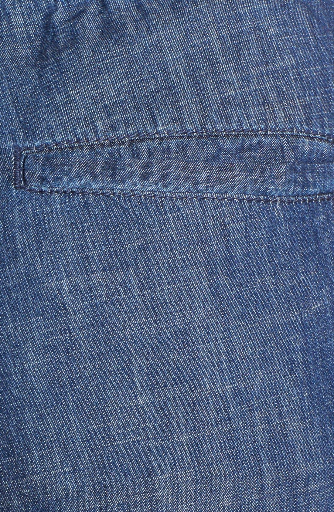 Alternate Image 3  - Christopher Blue 'Goldie' Chambray Drawstring Pants