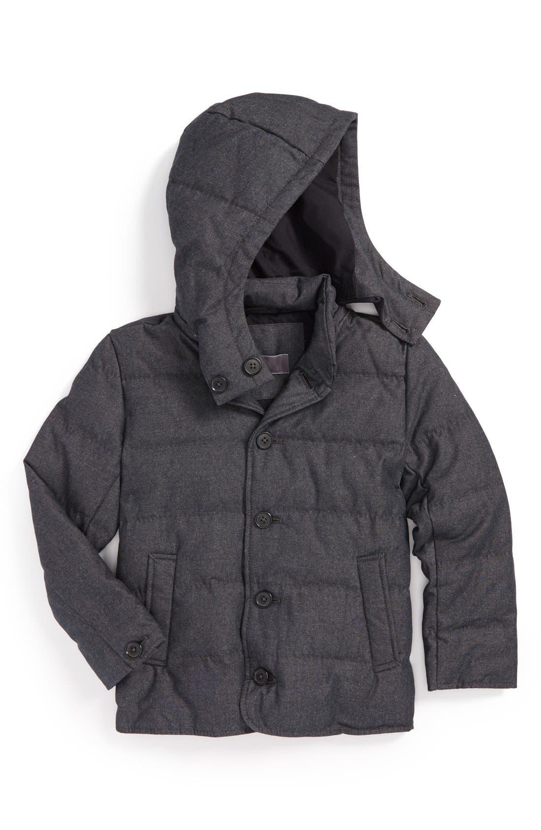Main Image - Vince Down Fill Puffer Jacket (Big Boys)