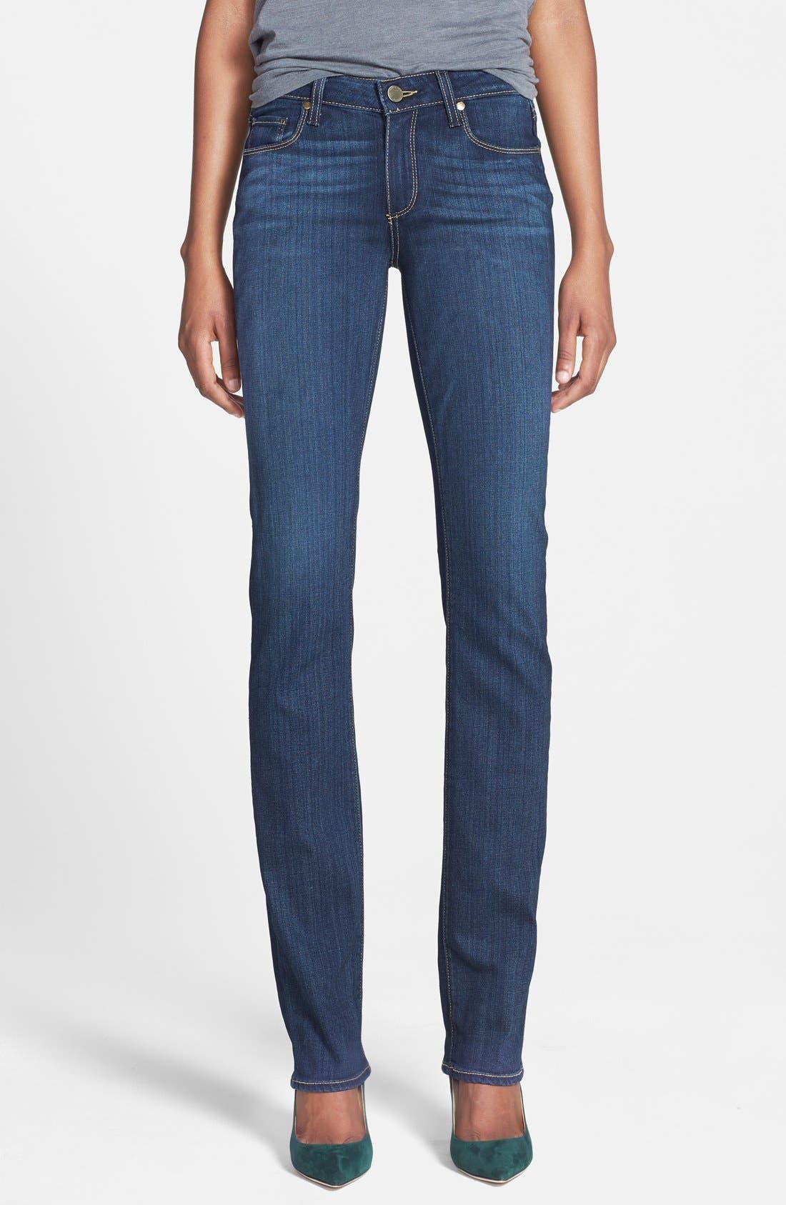 PAIGE Transcend - Skyline Straight Leg Jeans (Vista)