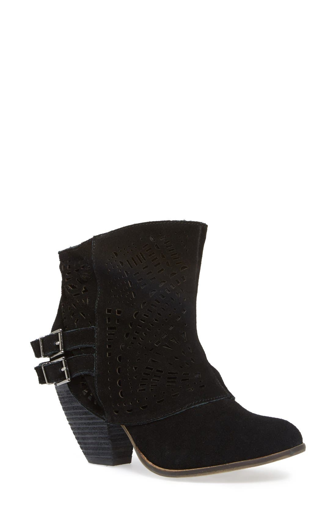 Alternate Image 1 Selected - Naughty Monkey 'Love Story' Cutout Bootie (Women)