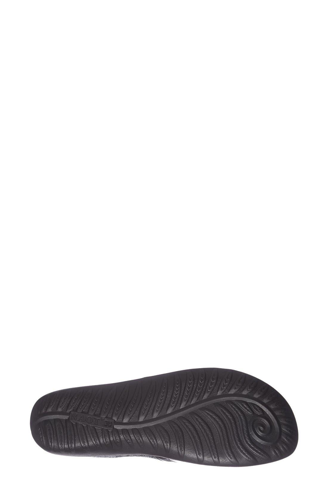 'Miro' Loafer,                             Alternate thumbnail 4, color,                             Black Lace