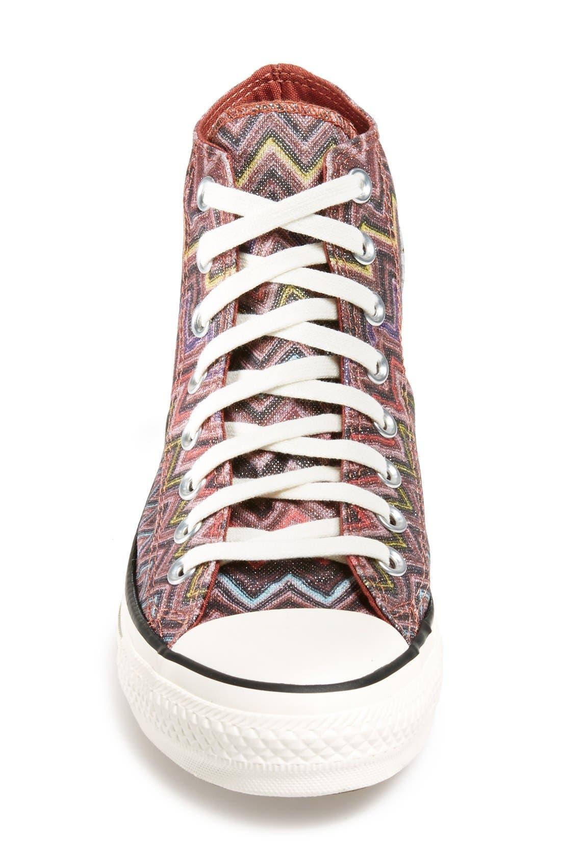 Alternate Image 3  - Converse x Missoni Chuck Taylor® All Star® High Top Sneaker (Women)