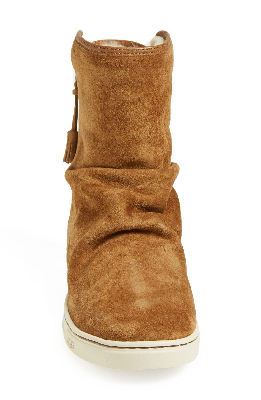 Alternate Image 3  - UGG® Australia 'Becky' Water Resistant Suede Boot (Women)