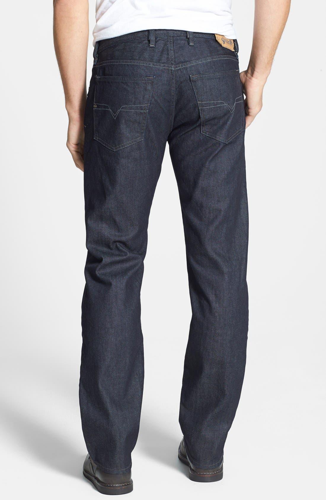 Waykee Straight Leg Jeans,                             Alternate thumbnail 2, color,                             0Z88