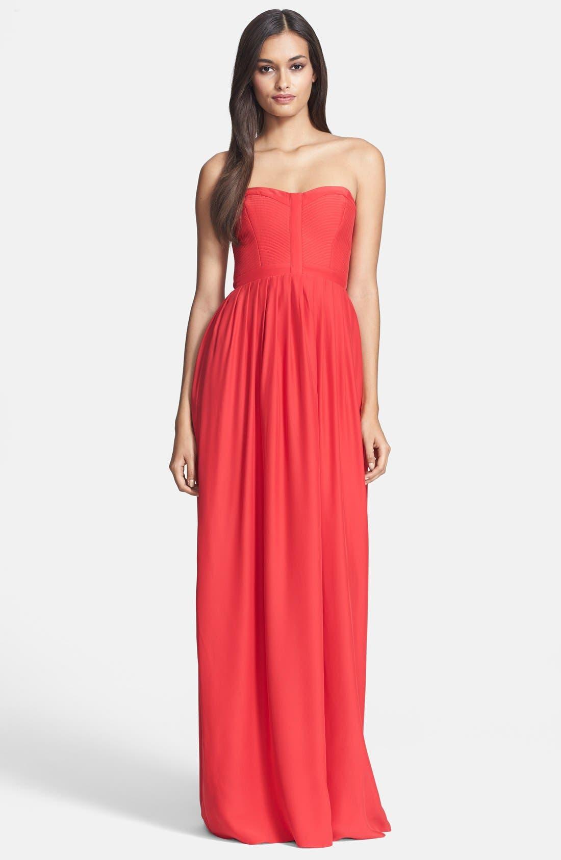 Alternate Image 1 Selected - Parker 'Bayou' Silk Maxi Dress