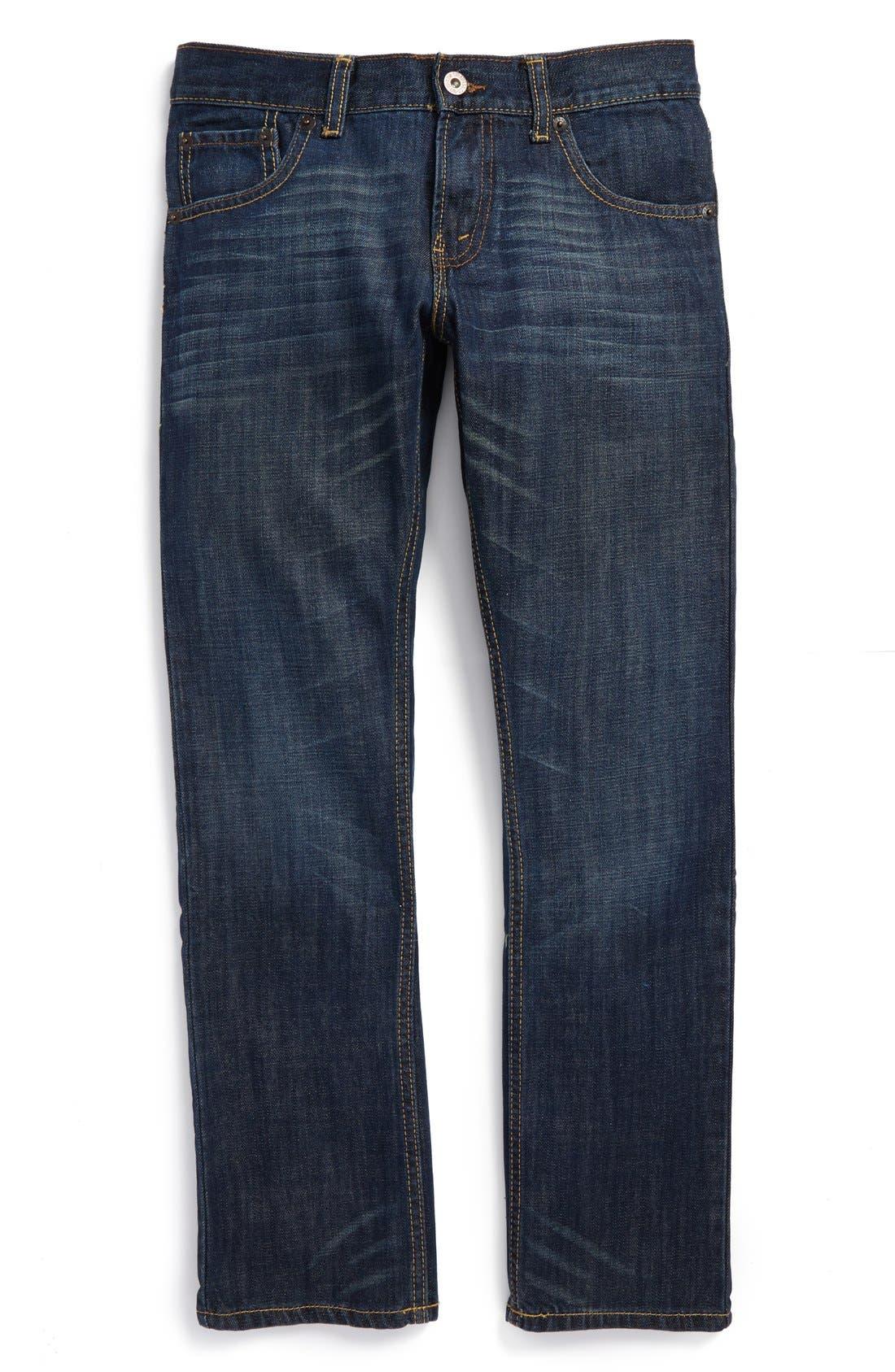 Alternate Image 1 Selected - Levi's® '513™' Slim Straight Jeans (Big Boys)