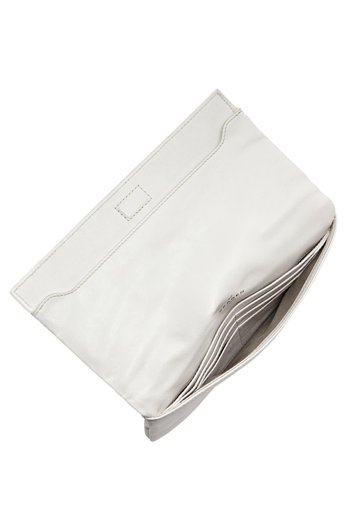 Alternate Image 2  - Skagen Flap Clutch Wallet