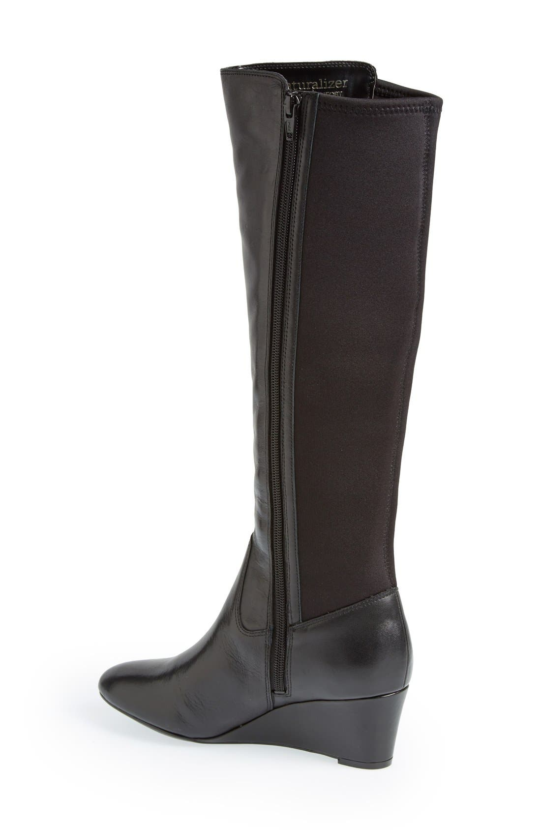 Alternate Image 2  - Naturalizer 'Quinlee' Knee High Boot (Women)