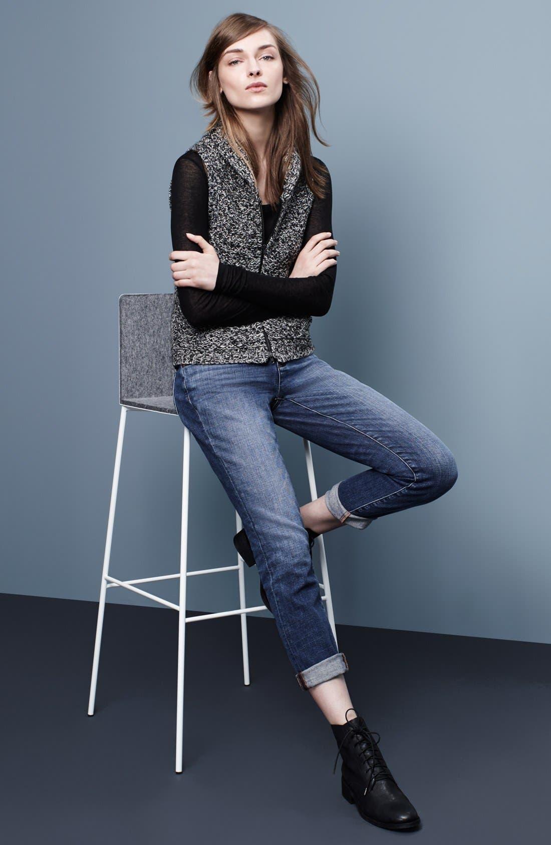 Alternate Image 4  - Eileen Fisher Merino & Yak Wool Sweater Vest (Regular & Petite)