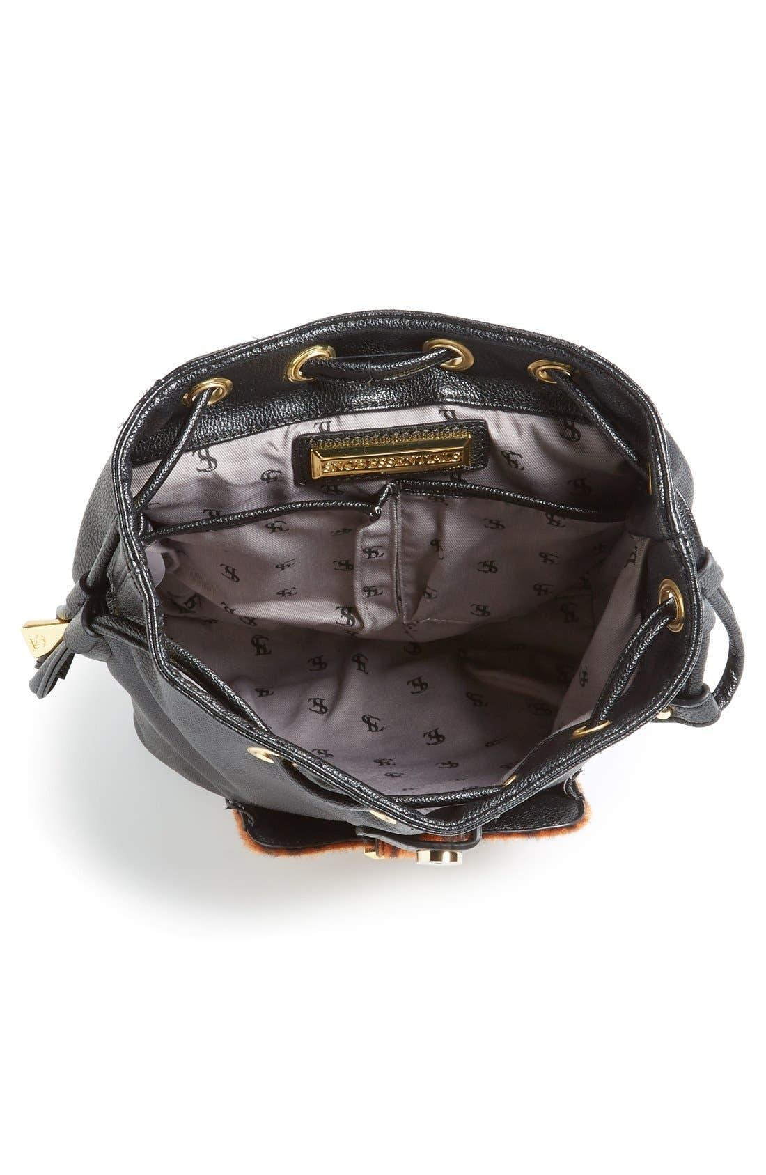 Alternate Image 3  - Snob Essentials Leopard Print Backpack