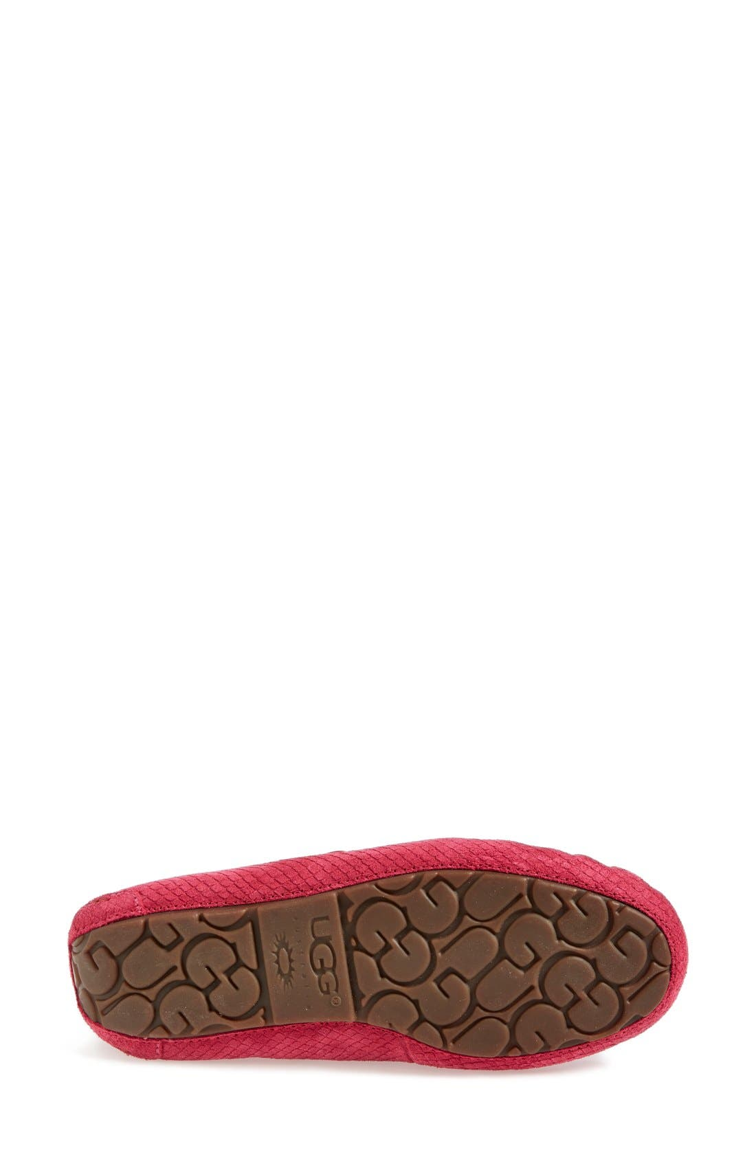 Alternate Image 4  - UGG® Australia 'Dakota - Exotic Scales' Suede Slipper (Women)
