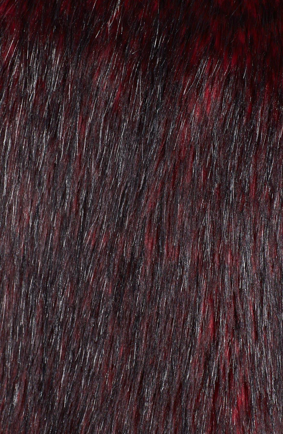 Alternate Image 3  - WAYF Faux Fur Long Vest