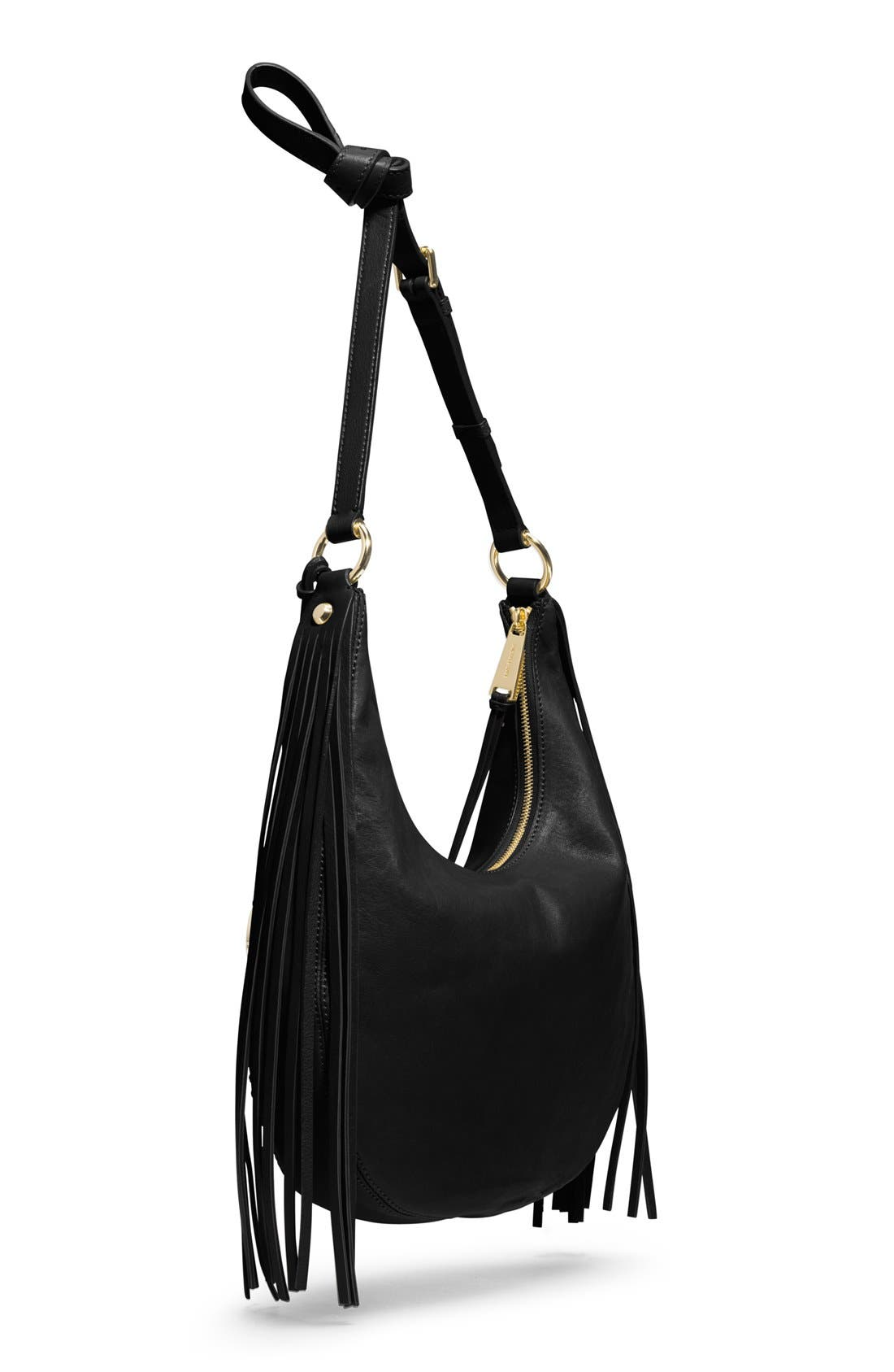 Alternate Image 3  - MICHAEL Michael Kors 'Rhea' Studded Leather Shoulder Bag