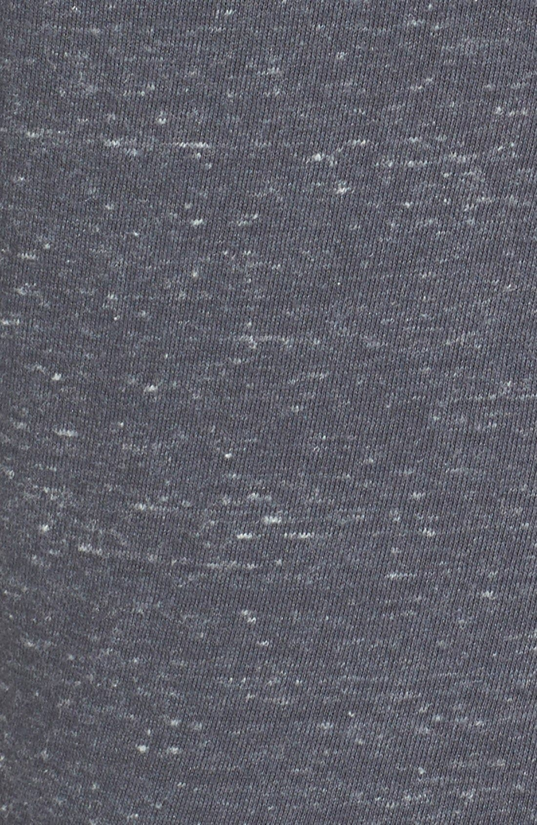 'Gym Vintage' Logo Graphic Top,                             Alternate thumbnail 3, color,                             Dark Grey/ Sail