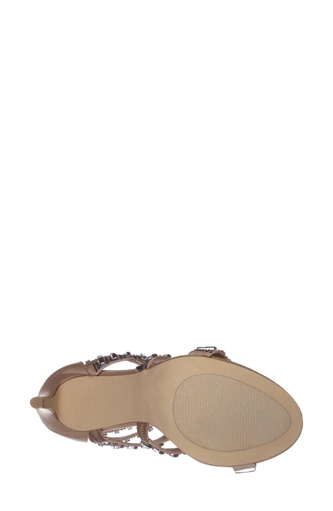 Alternate Image 4  - Steve Madden 'Famme' Crystal Sandal (Women)