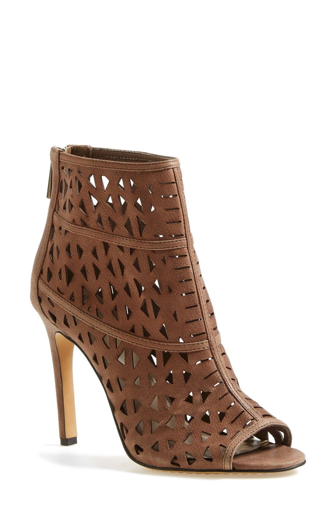 Main Image - Vince Camuto 'Kachina' Open Toe Bootie (Women) (Nordstrom Exclusive)