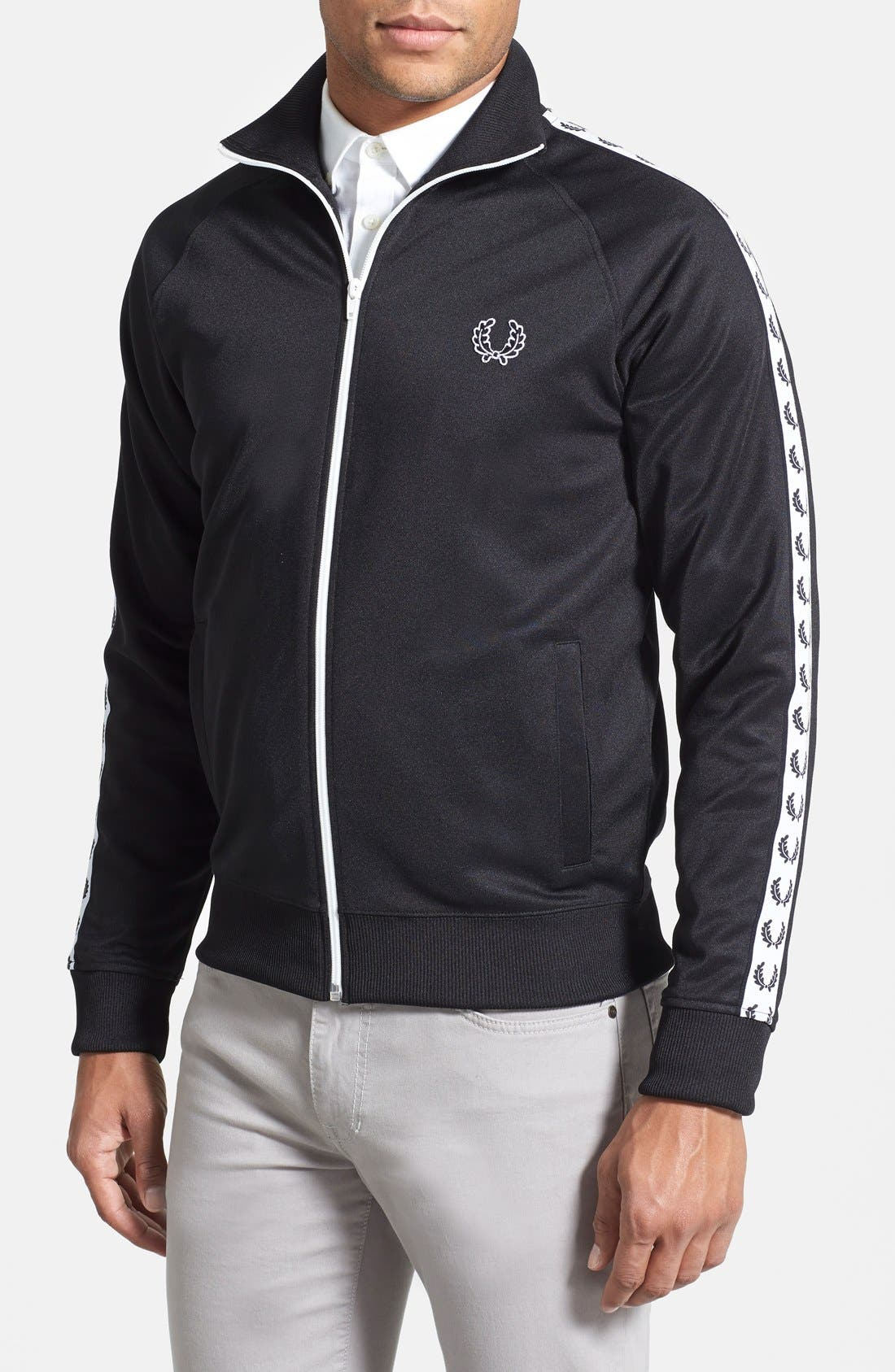 Main Image - Fred Perry Laurel Tape Track Jacket